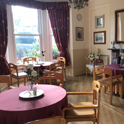 Picture of dining room
